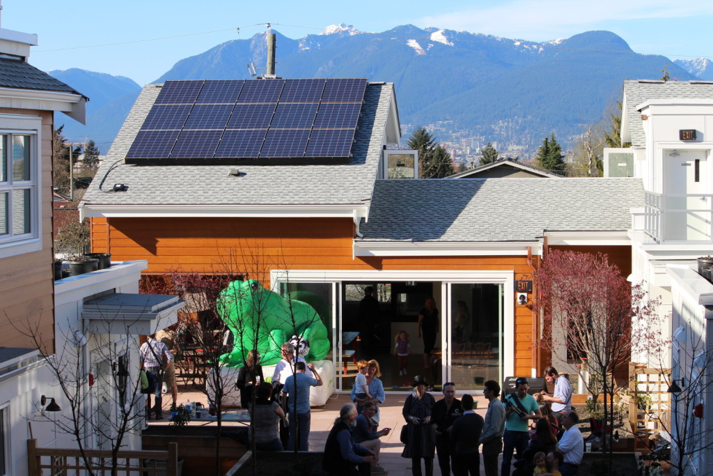 On Location at BC's First Community-Owned Solar Energy Project
