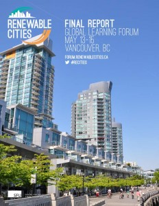 Renewable-Cities-Global-Learning-Forum-Report