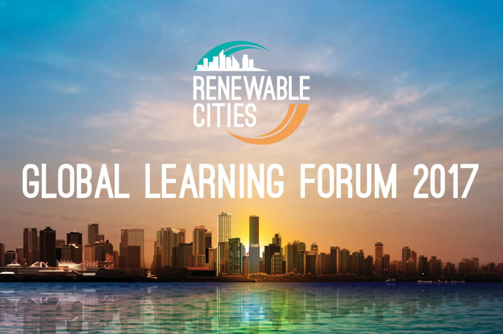 Renewable Cities Global Learning Forum 2017